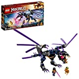 LEGO NINJAGO Legacy Overlord Dragon 71742 Ninja Playset Building Kit Featuring Posable Dragon Toy, New 2021 (372 Pieces)