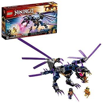 LEGO NINJAGO Legacy Overlord Dragon 71742 Ninja Playset Building Kit Featuring Posable Dragon Toy New 2021  372 Pieces