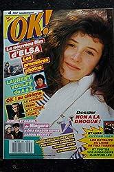 OK ! âge tendre 583 16 mars 1987 COVER ELSA Laurent VOULZY NIAGARA Cutting Crew