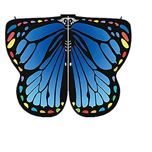 ZEELIY Loop-Schal für Damen Frauenkleidung Schmetterling Flügel Schal Schal Dame Nymphenelf Poncho Kleidung