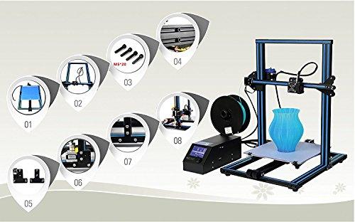 HICTOP CR-10 Stampante 3D Prusa I3 Kit metallo