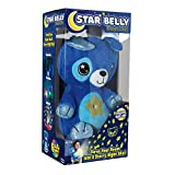 Ontel Star Belly Dream Lites, Stuffed Animal Night Light, Blue Puppy