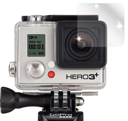 dipos I 6X Protection ecrán Compatible avec GoPro Hero 3+ Action Kamera Films de Protection d'écran Transparent
