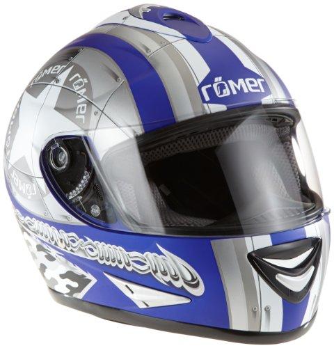 Römer RR20013_S Star Motorradhelm Größe S flat pearl / white