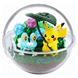 RE-MENT PK Terrarium Collection Four Seasons [2. Rainy Day (Pikachu & Keromatsu)] / Miniature Toy Figure