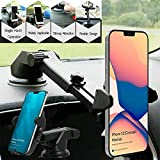 🚗 Easy One Touch Mounting: HOJI car mount comes with easy one touch mounting system, which locks your phone when you place your phone mount. 🚗 Easy Access Design: HOJI car mount comes with easy access design to charging and 3.5 mm jack. Other car mou...