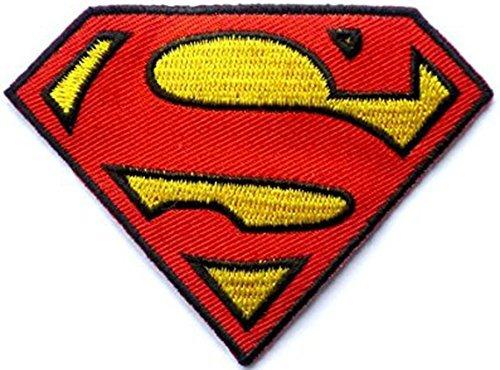 Superman Superheld zum Aufbügeln Patch Abzeichen zum Aufnähen Kostüm