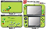 Yoshi 's New Island Lemon Edition Super Mario Skin Sticker Cover for NEW 3DS XL