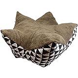 Hossi's Wholesale Hochwertiges Sitzkissen, waschbar, im Knopsen Prinzip - Größe L 80x35cm