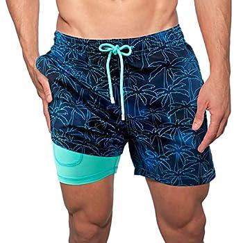Men s Swim Trunks Men Swim Shorts Men s Bathing Suits Mens Swim Trunks Swim Trunks Swim Shorts Mens Swimwear Board Shorts Mens Long Sleeve Bathing Suits Men s Swimsuit Blue Swim Shorts