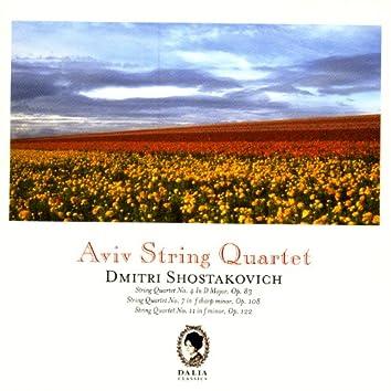 Dimitri Shostakovich: String Quartet No. 4, Op. 83 / String Quartet No. 7, Op. 108 / String Quartet No. 11, Op. 122