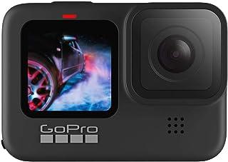 Câmera GoPro HERO9 Black à Prova D'água com LCD Frontal, Vídeo em 5K, Foto de 20 MP, Transmissão Ao Vivo em 1080p, Webcam,...