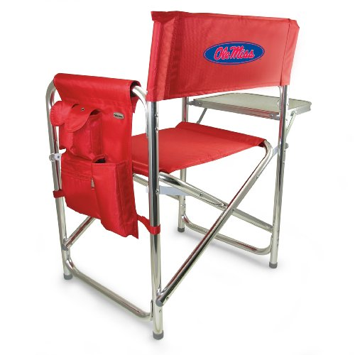 Folding Portable Sports Chair w/ Side Table