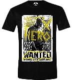 Batman Vs. Superman Batman Wanted Camiseta Negro L