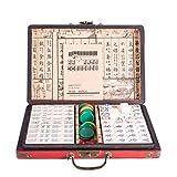 Lim Chinese Mahjong Set 144 Tiles (Mahjongg, Mah-Jongg, Mah Jongg Set, Majiang) -