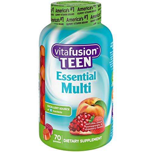 Vitafusion Teen Essential Gummy Multivitamin, 70 Count