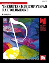 Mel Bay The Guitar Music of Stepan Rak, Vol. 1 by Mr. Stanley Yates (1999-05-02)
