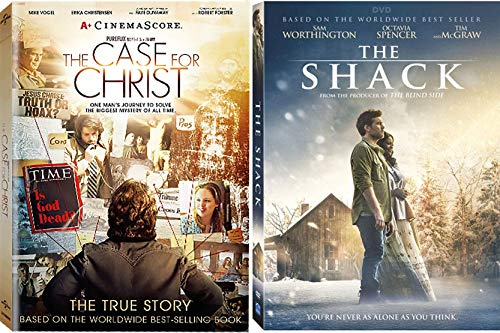 The Shack and The Case For Christ - Christian Movie DVD Bundle