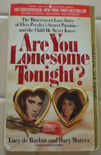 Are You Lonesome Tonight by Lucy De Barbin (1988-08-04)