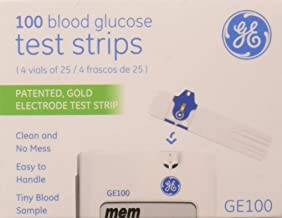 GA/Bionime GE100 Diabetic Test Strips, 100 Count