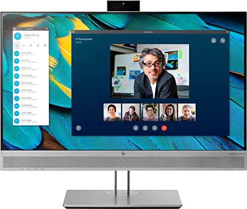 HP EliteDisplay E243m (23,8 Zoll / Full HD) Business Monitor (HDMI, DisplayPort, VGA, USB, Pivotfunktion, Reaktionszeit 5ms, 60 Hz) silber