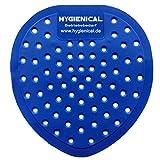 10 x Urinalsieb, Pissoir-Einsatz aus Kunststoff, Urinaleinsatz parfümiert, Farbe:blau