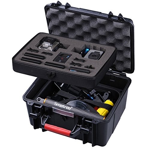 Smatree GA700-2 with ABS materials Floaty/Water-Resist Hard Case...