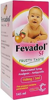 Fevadol SF 160 mg /5 mL Syrup 145 mL