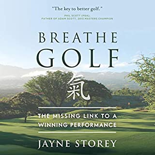 Breathe GOLF audiobook cover art