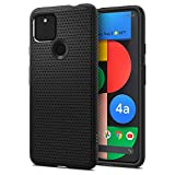 Spigen Funda Liquid Air Compatible con Google Pixel 4a 5G - Negro Mate