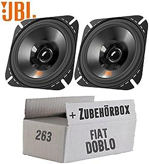 Lautsprecher Boxen JBL Stage2 424 | 2 Wege | 10cm Koax Auto Einbauzubehör   Einbauset für FIAT Doblo Typ 263   JUST SOUND best choice for caraudio