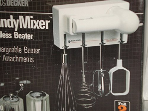 Handy Cordless Beater Mixer Set, 92…