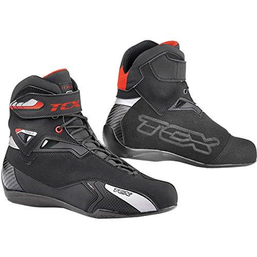 9505W - TCX Rush WP Motorcycle Boots 41 Black (UK 7.5)