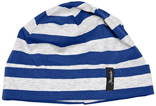Sterntaler Slouch-Beanie Béret, Bleu - Blau (Blau 356), 51 cm Mixte