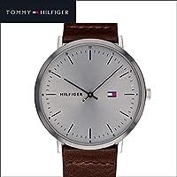 トミーヒルフィガー TOMMY HILFIGER 1791463(179) メンズ 時計 腕時計 グレー ブラウン レザー [並行輸入品]