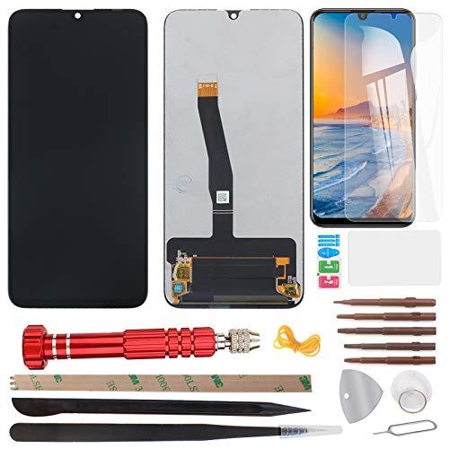 YHX-OU 6,21 inch voor Huawei P Smart 2019 Enjoy 9s LCD-display touchscreen vervanging scherm met gereedschap + beschermfolie (niet P Smart 2017 en niet P Smart Plus) (zwart)