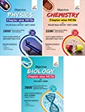 Objective Physics, Chemistry & Biology Chapter-wise MCQs for NTA NEET/AIIMS/JIPMER