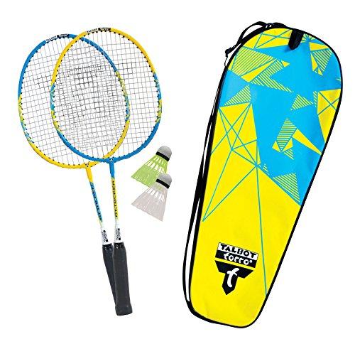 Talbot Torro Badminton Set Attacker JUNIOR Set Modell 2010, limegrün-gelb