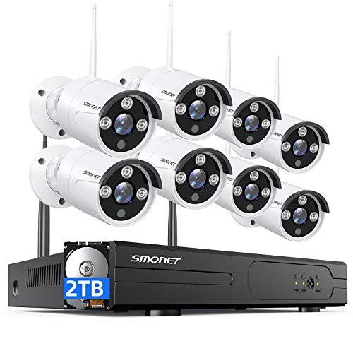 【2021 NEW】SMONET Security Camera System...