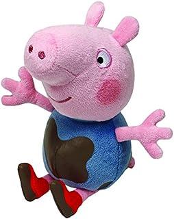 Ty UK Peppa Pig - Peluche de George (15,2 cm)