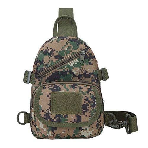 Zhhlinyuan Outdoors Tactical Sling Bags Crossbody Backpack Chest Daypack Travel Randonnée Bag for Men