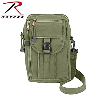 Rothco H//W Canvas Classic Passport Travel Pouch Olive Drab RSR Group Inc 613902914605