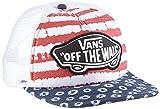 Vans Damen Baseball Cap, Beach Girl Trucker Hat, GR. One size (Herstellergröße: One Size), Mehrfarbig (Dyed Dots/Stripes/Blue/Red)