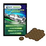DPF Remedy Easy to Use Tablets Immediately Reduces DPF Regeneration Cycles for Diesel RVs, Semi-Trucks, Pickups, Boats. (20-Pack. 10-Gal. Tablets)