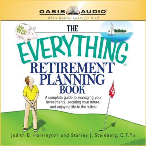 The Everything Retirement Planning Book audiobook cover art