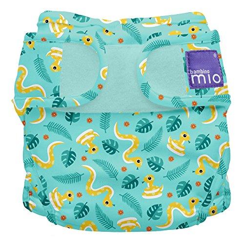 Bambino Mio, miosoft windelüberhose, dschungel schlange, Größe 1 (<9kg)