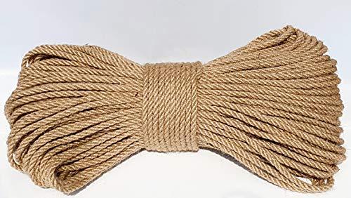 Generic Juteseil 10 mm Jute Seil Rope Natur 10 m
