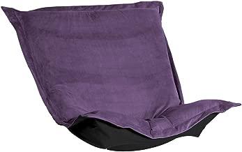 Howard Elliott C300-223 Puff Chair Cover, Bella Eggplant