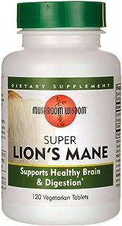 Super Lion's Mane with Maitake D-Fraction - 120 Vegetable Tablets by Mushroom Wi