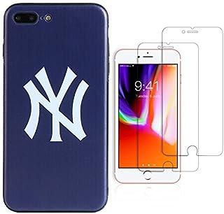 "Sportula MLB Phone Case Matching 2 Premium Screen Protectors Extra Value Set - for iPhone 7 Plus/iPhone 8 Plus (5.5"") (New..."